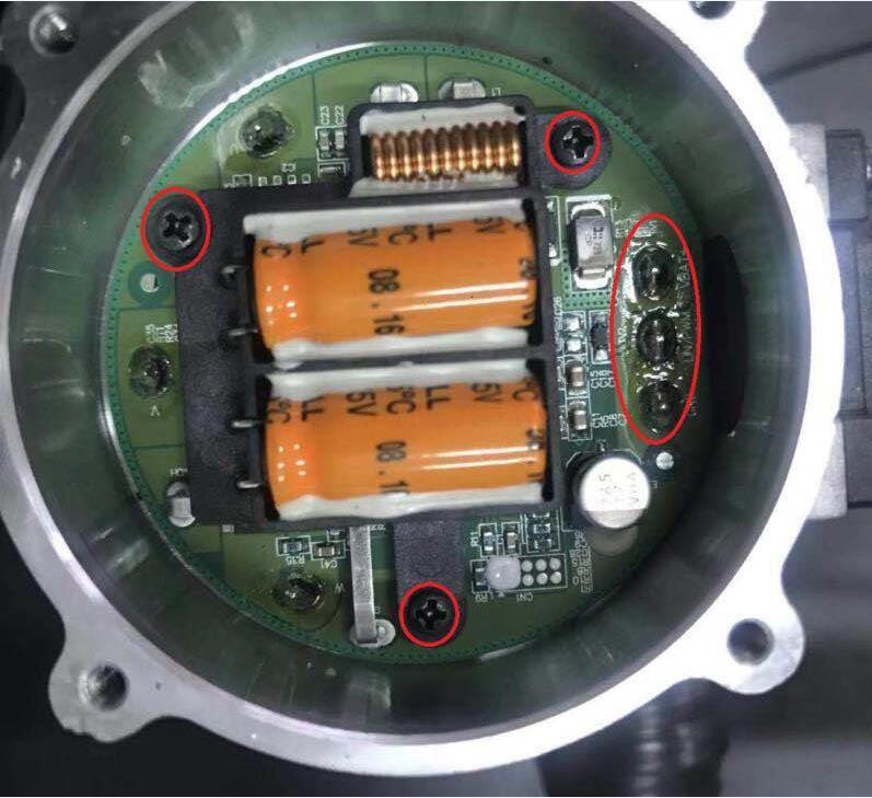 检测pcb焊点面积及螺丝有无
